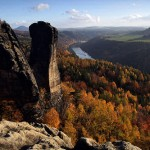 Podzimní Teufelsturm